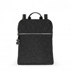 Mochila Kaos de Nylon en color antracita - negro de Tous.