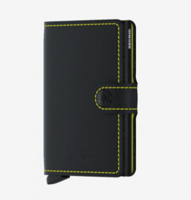 MINIWALLET DE SECRID MATTE BLACK YELLOW