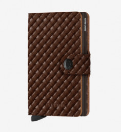 MINIWALLET DE SECRID BASKET BROWN