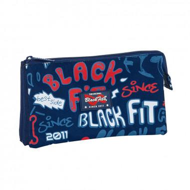 Portatodo triple Blackfit8 Letters de Safta.