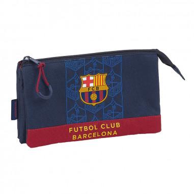Portatodo triple F.C. Barcelona de Safta.