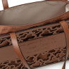 Shopping grande Amaya Kaos Shock marrón de Tous