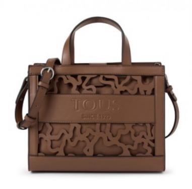 Shopping mediano Amaya Kaos Shock marrón de Tous